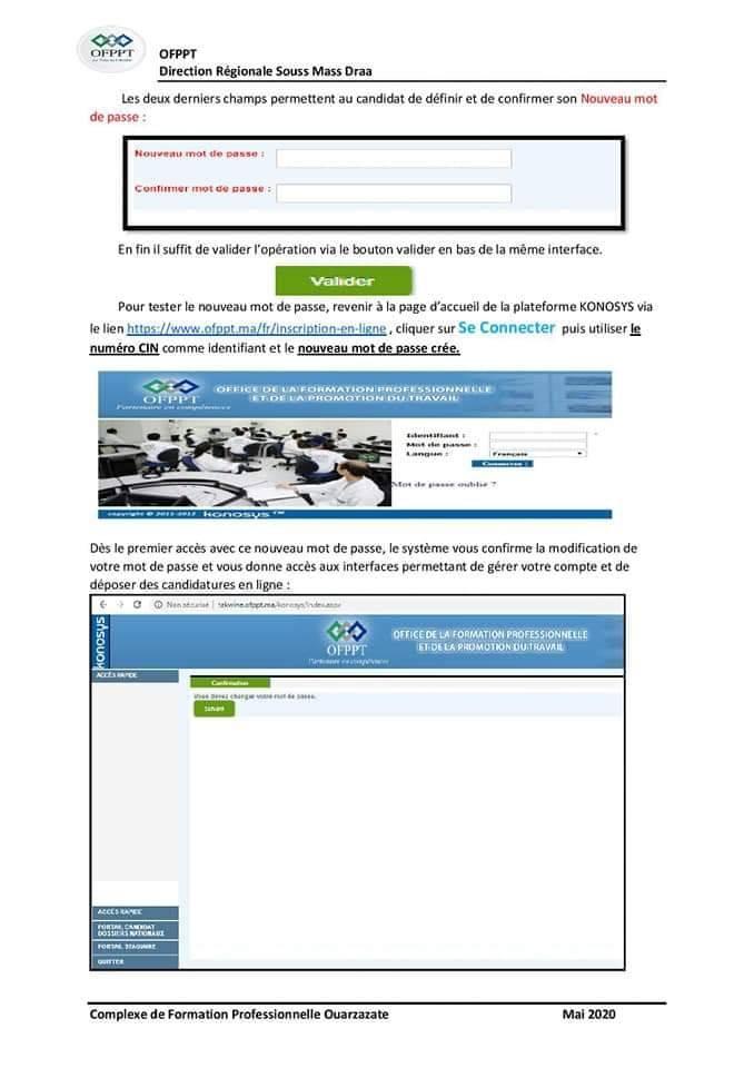 passe - Récupération mot de passe d'accès au site d'inscription de l'OFPPT: inscription-ofppt.ma - Page 2 R%C3%A9cup%C3%A9ration-Mot-de-passe-oubli%C3%A9-Konosys-OFPPT-1